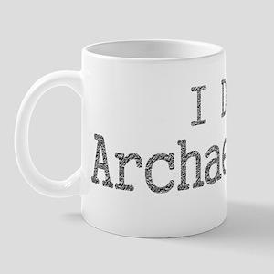 I Dig Archaeology Mug