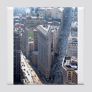 The Flatiron Building New York City Tile Coaster