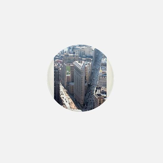The Flatiron Building New York City Mini Button