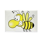 The Original Cute Bee Rectangle Magnet (100 pack)