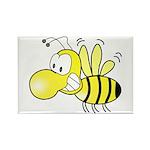 The Original Cute Bee Rectangle Magnet