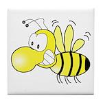 The Original Cute Bee Tile Coaster