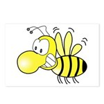 The Original Cute Bee Postcards (Package of 8)