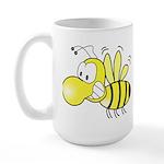 The Original Cute Bee Large Mug