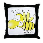 The Original Cute Bee  Throw Pillow