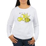 The Original Cute Bee Women's Long Sleeve T-Shirt