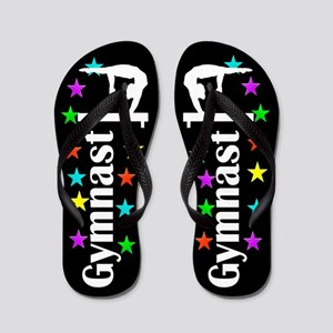 c8f06d265587dd Cute Gymnastics Flip Flops - CafePress