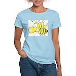 The Original Cute Bee Women's Pink T-Shirt
