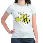 The Original Cute Bee Jr. Ringer T-Shirt