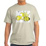 The Original Cute Bee Ash Grey T-Shirt