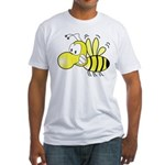 The Original Cute Bee Fitted T-Shirt