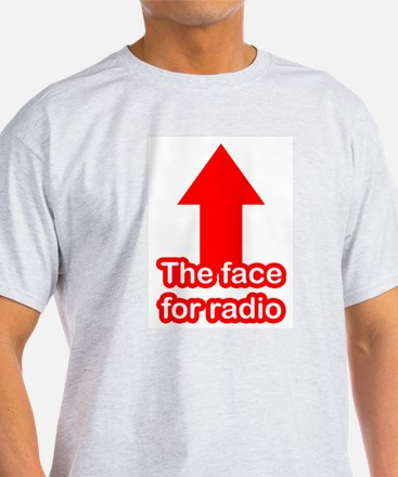 The Face for Radio Ash Grey T-Shirt