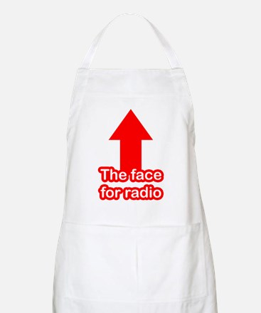 The Face for Radio BBQ Apron