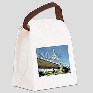 Zakim Bridge Canvas Lunch Bag