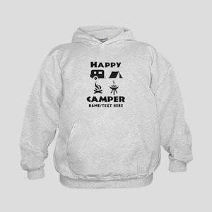 Happy Camper Personalized Kids Hoodie