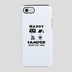 Happy Camper Personalized iPhone 7 Tough Case