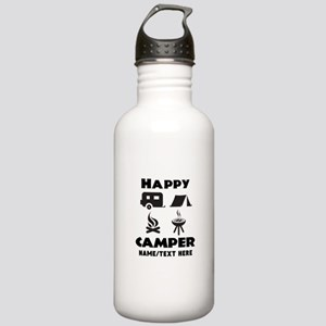 Happy Camper Personali Stainless Water Bottle 1.0L