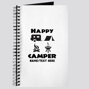 Happy Camper Personalized Journal