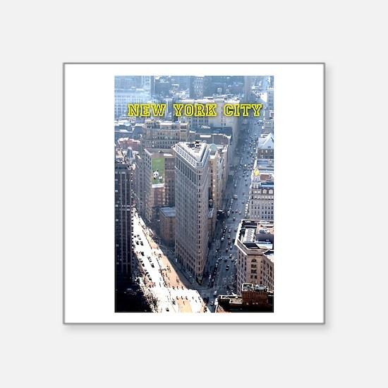 Flatiron Building New York City Sticker