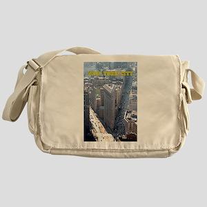 Flatiron Building New York City Messenger Bag