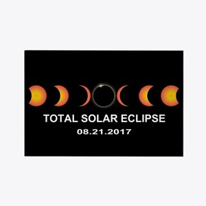 Total Solar Eclipse 20 Rectangle Magnet (100 pack)