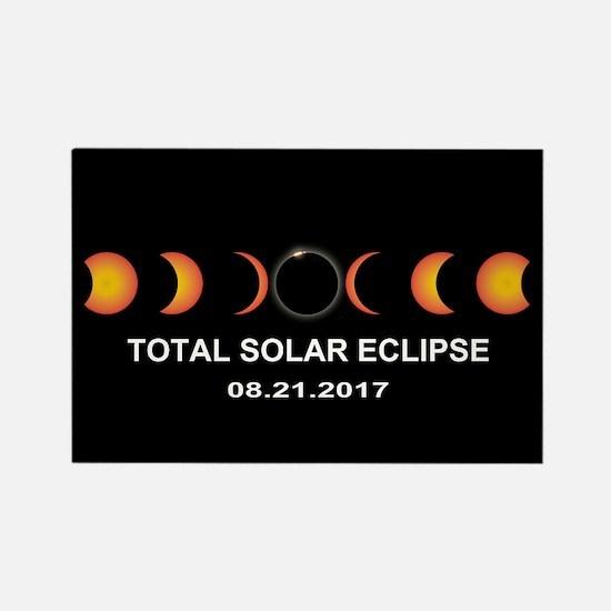 Total Solar Eclipse 2017 Rectangle Magnet