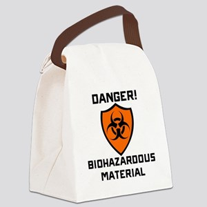 Danger Biohazaedous Material Canvas Lunch Bag