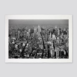 Empire State New York City-Pro Phot 5'x7'Area Rug