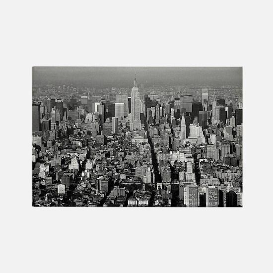 Empire State New York City-Pro Ph Rectangle Magnet