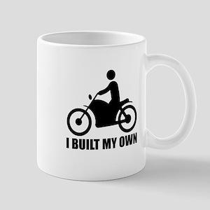Motorcycle, I built my own. Mug