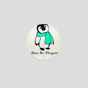 penguin 2 Mini Button