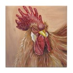Little Red Hen Tile Coaster