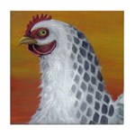 Little Hen Tile Coaster