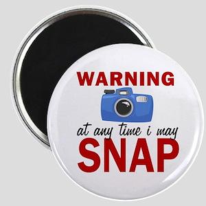 Warning Snap Magnets