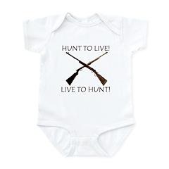 TWO GUN SALUTE Infant Bodysuit