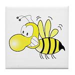 The Original Cute Stinger Bee Tile Coaster