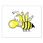 The Original Cute Stinger Bee Small Poster