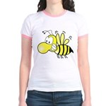 The Original Cute Stinger Bee Jr. Ringer T-Shirt