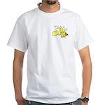 The Original Cute Stinger Bee White T-Shirt
