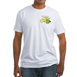 The Original Cute Stinger Bee Fitted T-Shirt