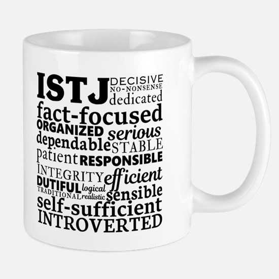 ISTJ Inspector Myers-Briggs Personality Mugs