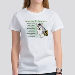 Alaskan Malamute Puppy Women's T-Shirt