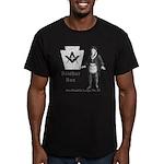 Ben Franklin Lodge No. 83 Men's Fitted T-Shirt (da
