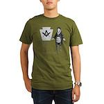 Ben Franklin Lodge No. 83 Organic Men's T-Shirt (d