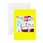 Fool Greeting Cards (Pk of 10) (no greeting)