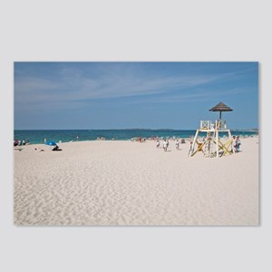 PI White Beach - Postcards (Package of 8)