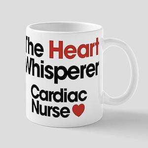 The Heart Whisperer Cardiac Nurs 11 oz Ceramic Mug