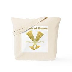 Golden Matron of Honor Tote Bag