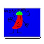 Bob the Chili Pepper Mousepad