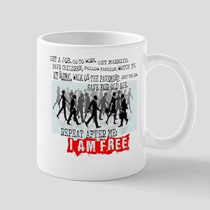 I am free Mugs